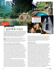 7 days in Malaysia article in Vogue Turkey