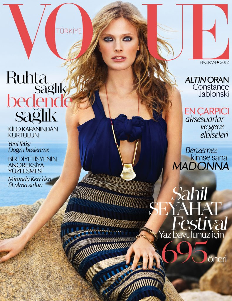 Vogue Turkey - June 2012 - Constance Jablonski