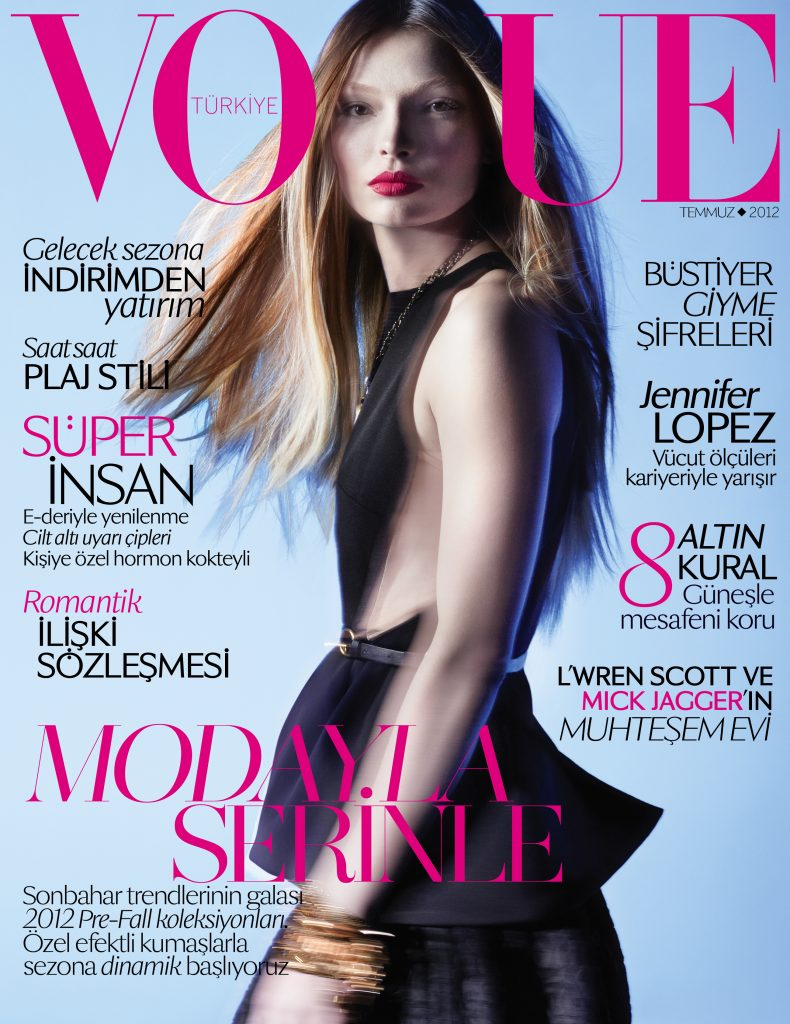 Vogue Turkey - July 2012 - Carola Remer