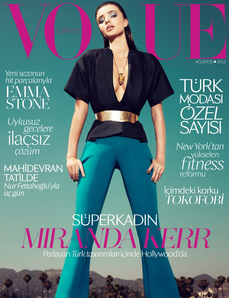 Vogue Turkey - August 2012 - Miranda Kerr