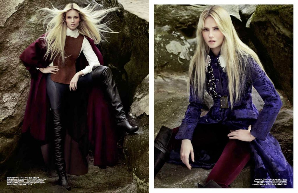Vogue Turkey - September 2012 - Natasha Poly