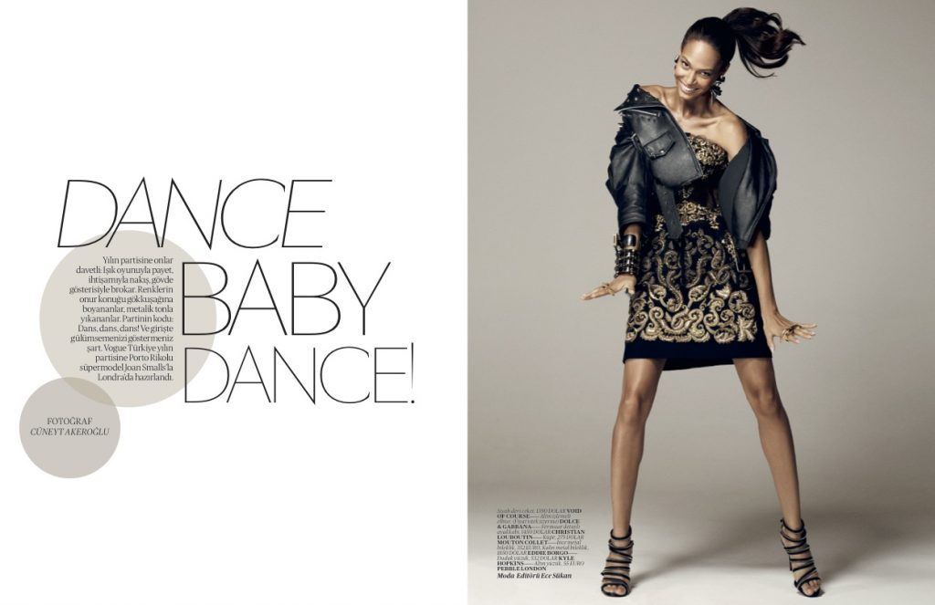 Vogue Turkey - December 2012 - Joan  Smalls