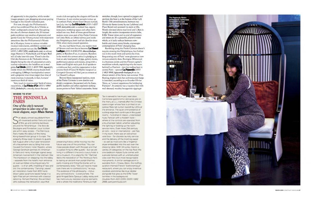 Conde Nast Traveller Middle East - Paris