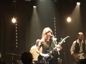 Lou Doillon in concert at the Cargo de Nuit