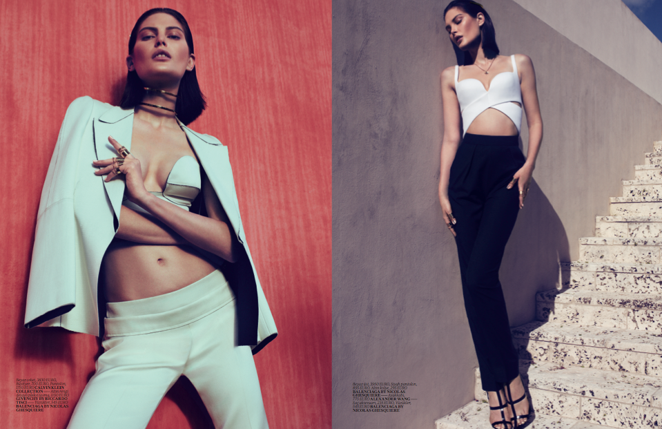 Vogue Turkey - March 2013 - Catherine McNeil