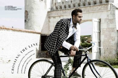 Abhay Deol for Harpers Bazaar India