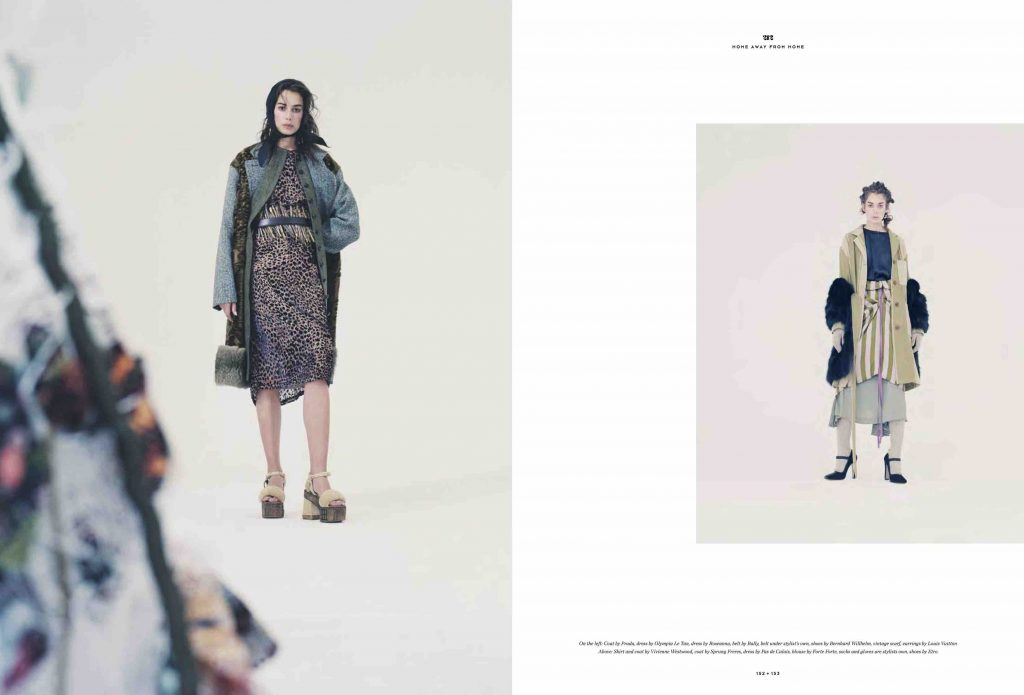 212 magazine second issue Home away from home produced by Sara Noel