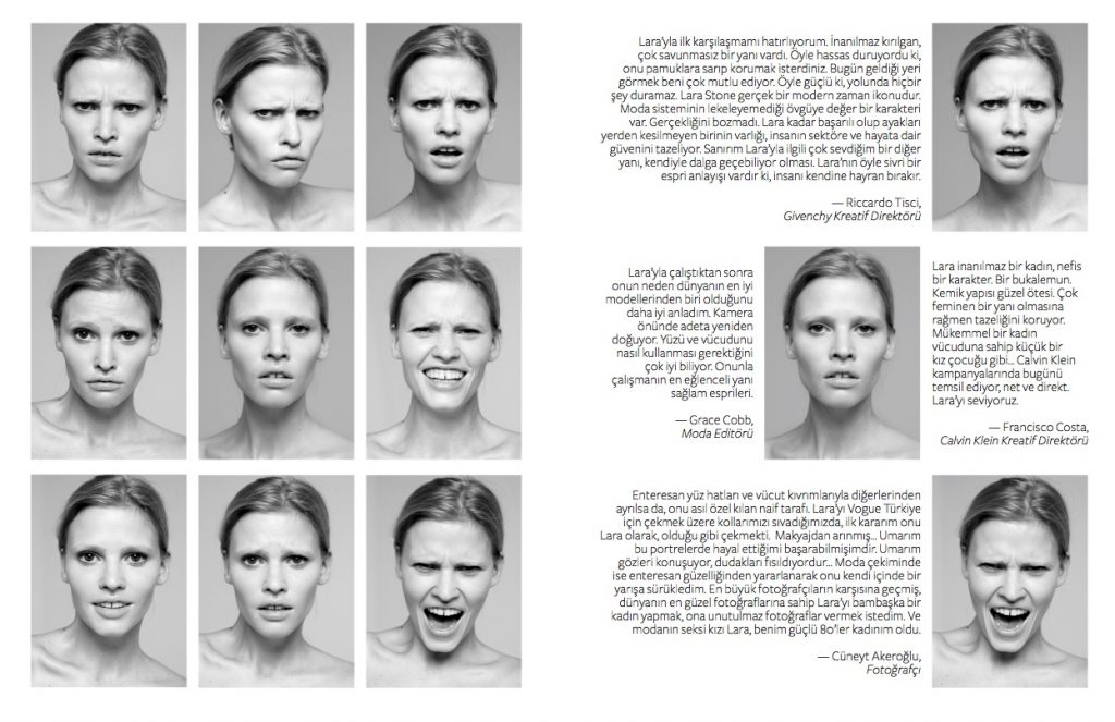 Vogue Turkey - April 2012 - Lara Stone