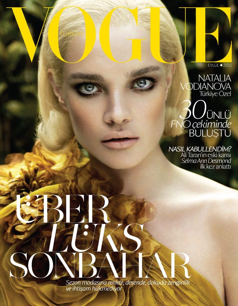 Vogue Turkey - September 2011 - Natalia Vodianova