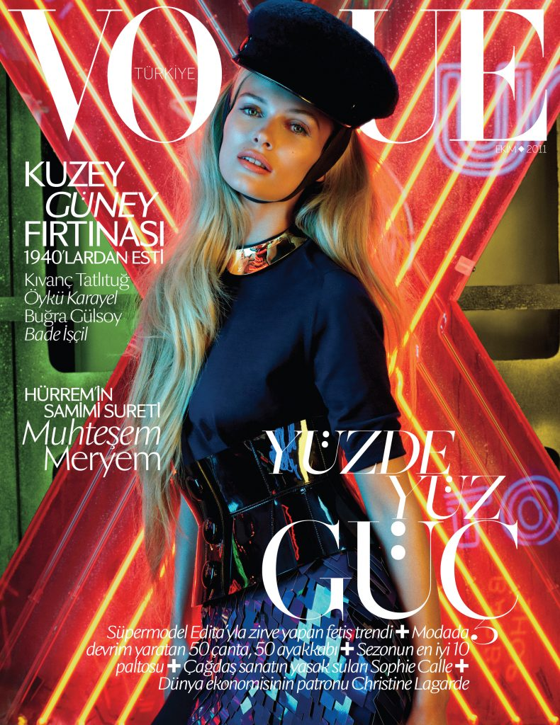 Vogue Turkey - October 2011 - Edita Vilkeviciute