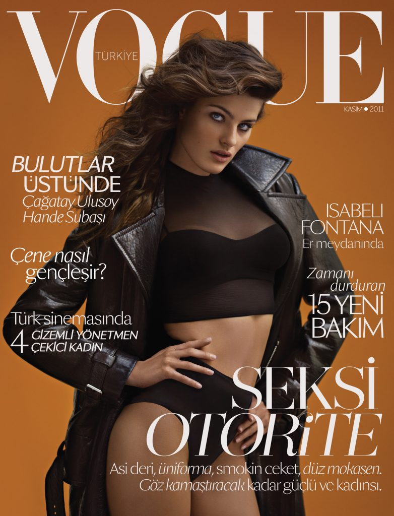 Vogue Turkey - November 2011 - Isabeli Fontana