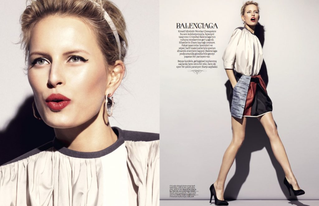 Vogue Turkey - February 2012 - Karolina Kurkova