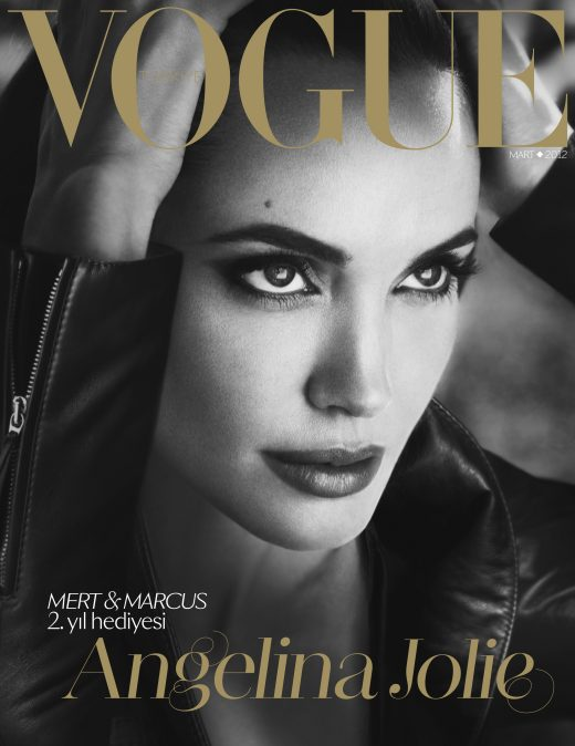 Vogue Turkey, - March 2012 - Angelina Jolie