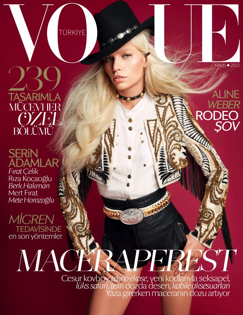 Vogue Turkey - May 2012 - Aline Weber