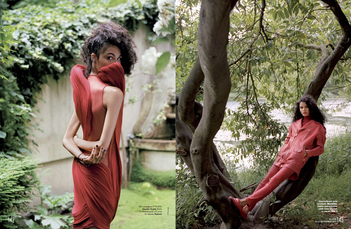 ELLE India - Scarlet Fever